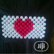 White And Red Hairclip | Jewelry for sale in Ogun State, Abeokuta South