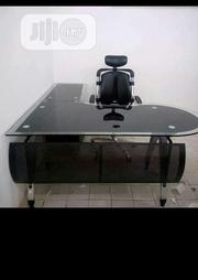Glass Office Table With Chairs   Furniture for sale in Lagos State, Maryland