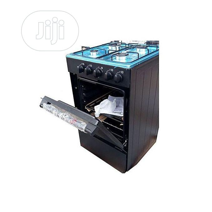 Midea 4 Burner Standing Gas Cooker With Oven | Kitchen Appliances for sale in Ikoyi, Lagos State, Nigeria