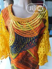 Embellished Ankara /Drylace Dress | Clothing for sale in Lagos State, Amuwo-Odofin