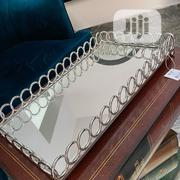 Luxury Silver Mirror Decorative Tray for Your Table Console. | Home Accessories for sale in Lagos State, Lagos Island