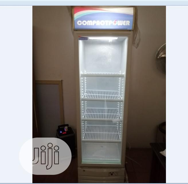 Solar DC Show Fridge 300 Liters With 24V Adapter
