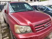 Toyota Highlander 2003 Red | Cars for sale in Ogun State, Abeokuta South