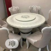 Round Mable Dining Table By 6 | Furniture for sale in Lagos State, Ojo