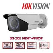 Hikvision 2MP Vari-focal 2.8mm-12mm Bullet Camera-ds-2ce16d0t-vfir3f | Security & Surveillance for sale in Lagos State, Ikeja
