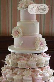 5 Steps With Cups Wedding Cake | Wedding Venues & Services for sale in Lagos State, Lagos Island