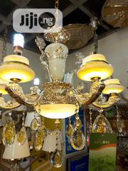 Christal Christal Gold Chandelier | Home Accessories for sale in Lagos State, Ojo