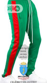 Green and Red TRACKPANT | Clothing for sale in Lagos State, Victoria Island