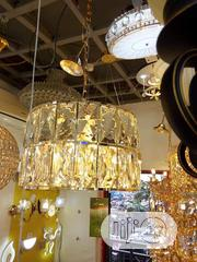 Christal Gold Chandelier | Home Accessories for sale in Lagos State, Ojo