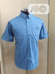 Men's Short Sleeve Shirt Sky Blue 3 | Clothing for sale in Lagos State, Ajah