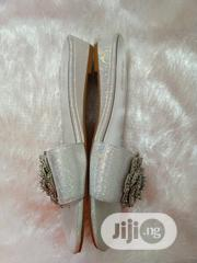 Nine West Silver Flat | Shoes for sale in Lagos State, Kosofe