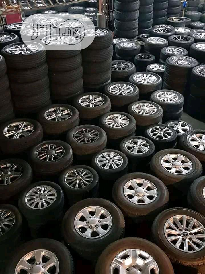Allow Wheels And Tires All Size At Good Price | Vehicle Parts & Accessories for sale in Mushin, Lagos State, Nigeria
