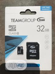 32GB Micro SD Card Class 10 Team Group Memory Card | Accessories for Mobile Phones & Tablets for sale in Lagos State, Ikeja