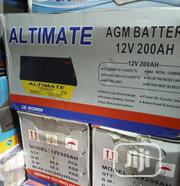 200ahs 12volt ALIMATE Battery Available With 1yrs Warranty | Electrical Equipment for sale in Lagos State, Ojo