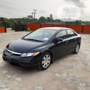 Honda Civic 2008 Black | Cars for sale in Lagos State, Ikeja
