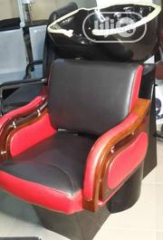 First Class Salon Chair With Washing Basin | Salon Equipment for sale in Lagos State, Lagos Island