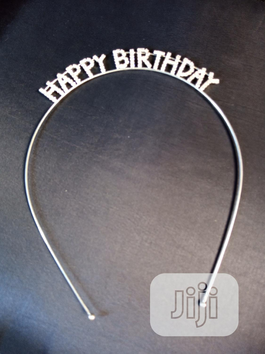 Bitthday Hair Band | Jewelry for sale in Wuse, Abuja (FCT) State, Nigeria