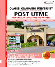 Olabisi Onabanjo University (OOU) Post UTME Past Questions/Answers | Books & Games for sale in Lagos State, Oshodi-Isolo