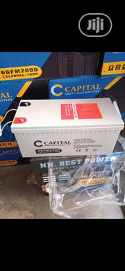 200ah CAPITAL Battery   Solar Energy for sale in Lagos State, Ojo
