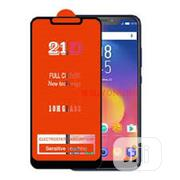Infinix S4(X626) HD Glass Screen Protector - Black | Accessories for Mobile Phones & Tablets for sale in Lagos State, Amuwo-Odofin