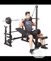 10 in 1 Mutil Purpose Weight Bench With 50kg Dumbbells | Sports Equipment for sale in Lagos State, Victoria Island