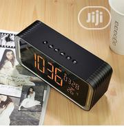MUSKY DY33 Multifunction Bluetooth Speaker Alarm Clock Temperature | Home Accessories for sale in Lagos State, Ikeja