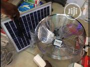 Rechargable Fan With Solar | Solar Energy for sale in Lagos State, Lagos Island