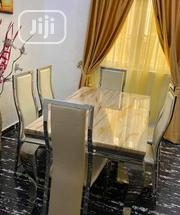 Imported Six Seater Marble Dining Table | Furniture for sale in Lagos State, Magodo