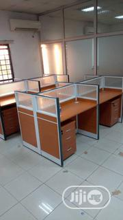Wooden Workstation Table   Furniture for sale in Lagos State, Ojo