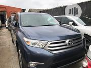 Toyota Highlander 2013 Limited 3.5l 4WD Blue | Cars for sale in Lagos State, Ikeja