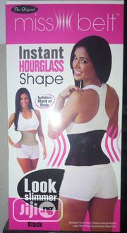 Miss Belt Instant Hourglass Shaper Black S/M   Makeup for sale in Abuja (FCT) State, Wuse 2