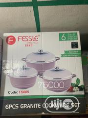 6pcs Granite Cookware Set | Kitchen & Dining for sale in Lagos State, Lagos Island