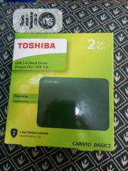 TOSHIBA 2TB External Hard Drive | Computer Hardware for sale in Lagos State, Ikeja