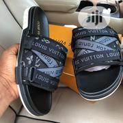 New Black Leather Palm Slippers | Shoes for sale in Lagos State, Apapa