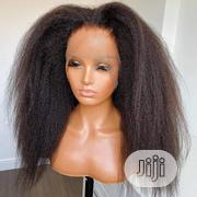 20 Inches Kinky Straight With Frontal | Hair Beauty for sale in Lagos State, Kosofe