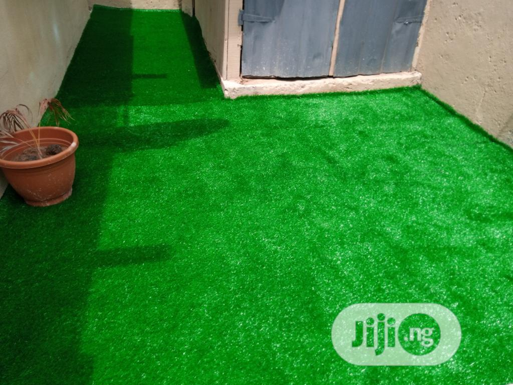 Ikeja Estate Artificial Grass Installation On The 04 May