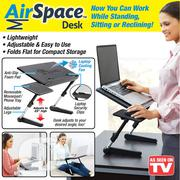 Air Space Adjustable Laptop Desk Stand   Computer Accessories  for sale in Lagos State, Yaba