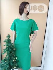 Green Cape Dress | Clothing for sale in Lagos State, Agboyi/Ketu