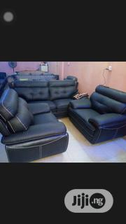 7 Seater Black Sofa | Furniture for sale in Lagos State, Ojo