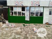 Shop Owner Use Artificial Grass Carpet To Decorate Front Entrance | Garden for sale in Lagos State, Ikeja
