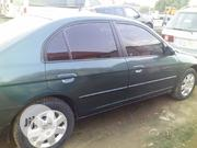 Honda Civic 2002 Green   Cars for sale in Lagos State, Alimosho