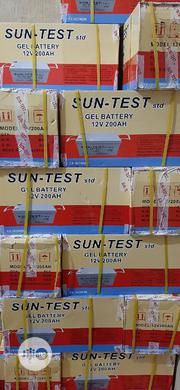 200ah 12v Solar Battery Sun Test With Warranty | Solar Energy for sale in Anambra State, Onitsha