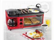 3-In-1 Breakfast Maker Station 4 Cup Coffeemaker, Toaster Oven, New   Kitchen Appliances for sale in Lagos State, Ikeja