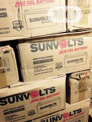 150 Ah Sunvolts Deep Cycle Battery With One Year Warranty | Solar Energy for sale in Lagos State, Ojo