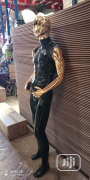 Black And Chrome Gold Male Fiber Mannequin   Store Equipment for sale in Lagos State, Lagos Island