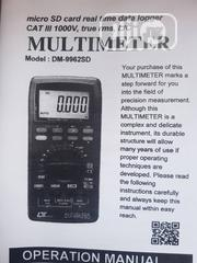 Luthron DM-9962SD, Micro SD Card Real Time Data Logger Cat.   Measuring & Layout Tools for sale in Lagos State, Ojo