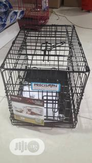 Dog Cage (Collapsible Black Cage) | Pet's Accessories for sale in Lagos State, Alimosho