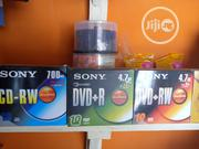 Cd /DVD Rewritable Recordable Sony | Computer Accessories  for sale in Lagos State, Ajah