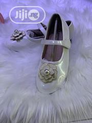 Chanels White Flat Shoes For Girls | Children's Shoes for sale in Lagos State, Lekki Phase 1
