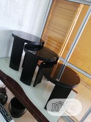 Wooden Designers 3in1 Sides Stools (SET) 📢!! | Furniture for sale in Lagos State, Lekki Phase 1